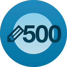 500 published post milestone!