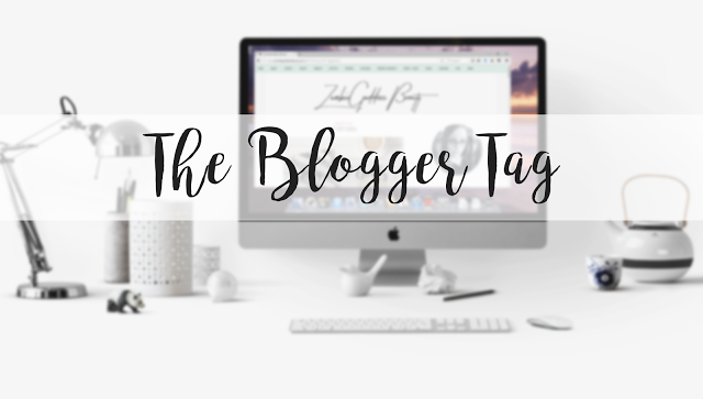The Blogger Tag – My First one like this?! :D